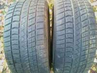 These are 2 Cooper Cobra Tires they are p 245 50 R16