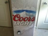 "Coors Light ""Refresherator"".  Great for any collector,"
