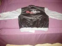 xlarge #40 sterling marlin new leather jacket. no