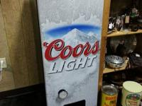 Coors Light Refresherator New - Never ever utilized.
