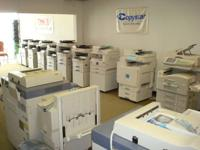 Come see or ask for info on all these repo copiers,