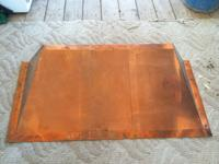 Copper Range Hood $100 o.b.o. This is just the hood,