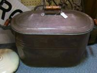 Large metal boiler. Excellent for classic recipes.