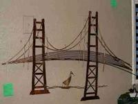 COPPER GOLDEN GATE BRIDGE ASKING $125.0 CALL  SEE AT