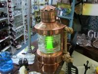 Beautiful copper casing and green light refurbished to