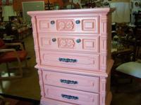 Coral 5 drawer chest made of solid oak   Tightwad