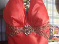 i have a coral prom dress with beading.size is a 5/6.