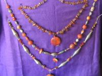 CORAL NECKLACES - any one $20, an two $35. Mix and