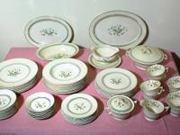 This is a 64-piece set of Syracuse fine china in the