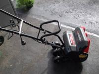 I am selling an MTD model corded electric snowthrower.