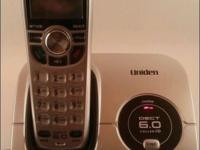 The DECT1560 cordless phone by Uniden is packed with