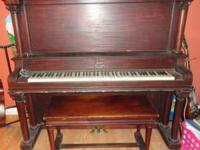 upright piano for sale  Location: Stockton, Ga