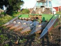 JD 643 OIL BATH CORN HEAD - ALLIS 1400 37.5FT DIGGER-