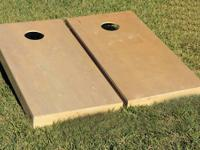 Corn hole boards. Contentment assurance. 1. Ensured to