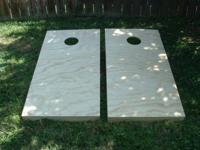 Im selling a unfinshed CornHole Game Set ( 2'x 4' )