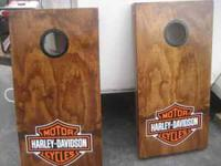 We do custom corn hole boards. If they are just painted