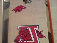 Custom Made in the U.S.A. All Hand-Painted Corn Hole