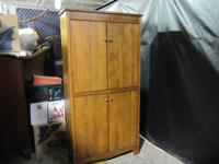 Corner Armoire / cabinet Entertainment Center / Stereo