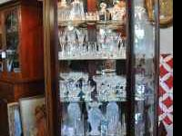 4 Gorgeous Solid Wood Lighted Curio Cabinets. 3 Howard