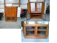 We purchased this corner television cabinet in 2008 for