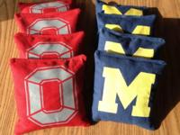 !! CORNHOLE BAGS !! These and more! $10 solid color (4