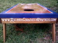 We have at least 3 cornhole game sets (aka: corn hole,