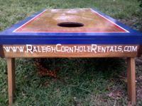 We have at least 3 cornhole game sets (aka: corn hole,