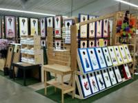 Cornhole Gameboards & Bags, Located inside the