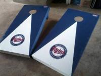"Regulation specific ""Cornhole"" board sets for sale from"