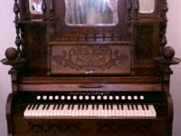 1895 Cornish Reed Organ professionally refurbished, new