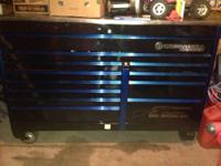 "Up for sale is 67"" Cornwell double bay toolbox Limited"