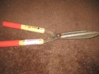 USED Light-Duty Hedge Shears Strong & Durable The