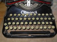 I am selling this typewriter I discovered in my dad's