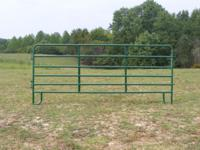 These Farm corral/round pen panels are 12 ft in length