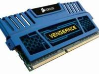 8GB of Corsair DDR3 Vengence RAM 1.65V 2x4GB sticks of