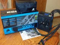 $130.00 OBO CORSAIR HX Series CMPSU-1000HX 1000W ATX12V