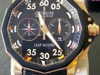 New Limited Edition Corum Admirals cup 48 Leap Second.