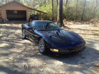 2002, Z06 Corvette! Black on Black! Less than 15,000