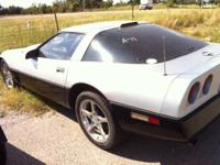 This Chevrolet Corvette has the small block 350 and
