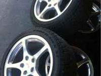 For sale wheels and tires off my c5 corvette. Used but