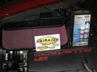 I have a new AIRAID Synthaflow air filter element