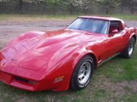 1981 Corvette. 58,800 miles. Needs restoration. SPRING