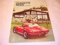 I have for sale a collection of Corvette News 65