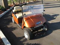 THIS CUSTOM GOLF CART IS READY TO ROLL INTO A FRONT