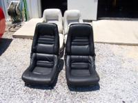 Corvette seats good used  Fits 1979-1982 Corvette  Will