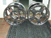 I have 2 - 97, 98, 99 Corvette Chrome C5 OEM Chrome