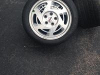 1990 Corvette wheels and tires for sale. They are