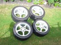 For sale- Set of 4 Original GM wheels and tires for