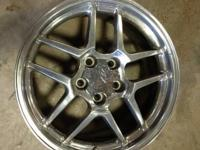 Up for sale is a set of Corvette z06 replica wheels.