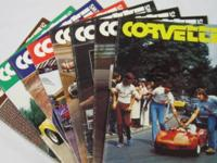 Corvette Quarterly Fall 88 through winter 1990 8 issues